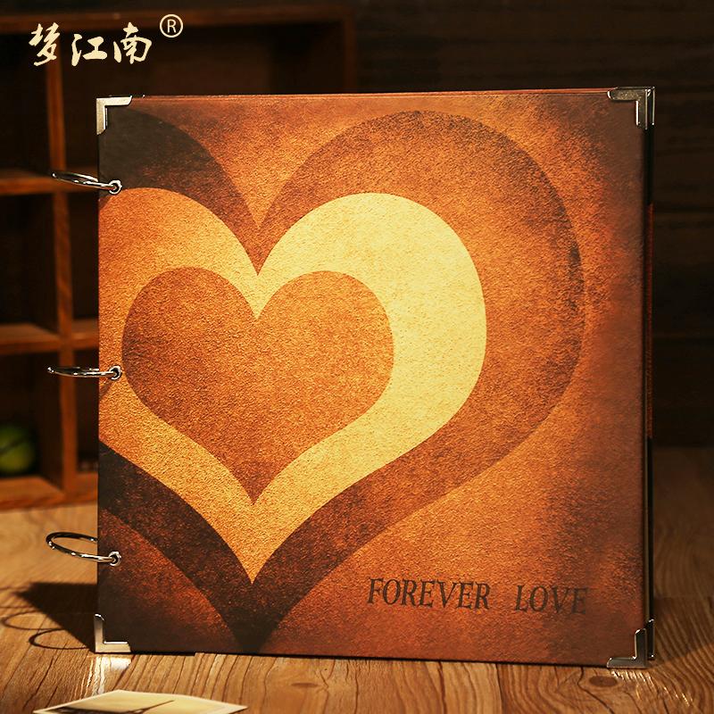 大本16寸DIY相册手工韩国520创意礼物影集儿童成长宝宝情侣纪念册