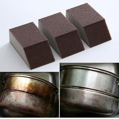 集美 金刚砂海绵擦去污除铁锈垢海绵厨房清洁刷碗洗锅神奇海绵块