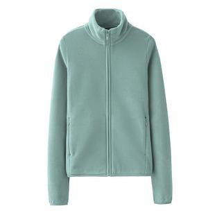 秋冬摇粒绒卫衣女加绒双面绒拉链开衫纯色短外套绒衫大码