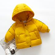 男童棉衣2018棉服宝宝加厚冬装外套1-2-3-4岁 婴儿童棉袄