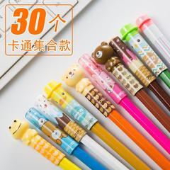 铅笔延长器保护帽儿童画笔笔杆中性创意笔帽幼儿童透明安全个笔头韩国帽子写字延伸男女炭棒公主接糖果色
