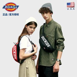Dickies潮牌斜挎包男士腰包大学生潮流女士胸包单肩包包C012