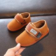 冬季2018儿童雪地靴宝宝鞋子学步鞋1-3岁婴儿软底棉靴