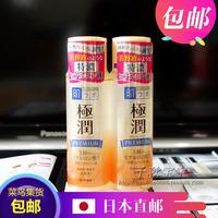 限1件 日本直邮 乐敦肌研金极润5种玻尿酸高保湿化妆水170ml金色