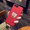 本命年苹果Xs Max手机壳挂绳iPhone7刺绣猪套8plus创意6sp女款冬