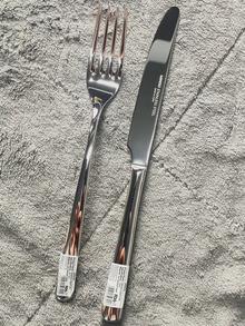 MINISO名创优品纯色西餐餐具套装家用西餐不锈钢刀叉汤勺凯发k8娱乐手机版用具