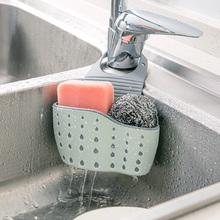 水槽海绵沥水挂袋水池收纳架子挂篮厨房用具用品置物架塑料沥水架
