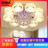 客厅灯水晶led吸顶灯圆主卧室温馨浪漫简约现代大气家用高档灯具