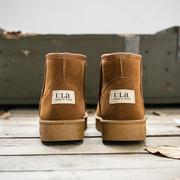 雪地靴女2020年冬季韩版时尚短筒短靴子加绒加厚保暖面包棉鞋