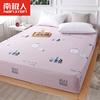 南极人床笠单件全棉纯棉1.8m床罩防尘罩床单席梦思防滑床垫保护套