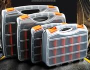 塑料零件盒电子零件盒收纳盒五螺丝盒螺母配件片盒