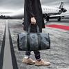 旅行包男手提大容量迷彩潮牌健身包出差旅游短途行李包单肩斜挎包