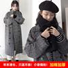 年后断码赫本毛呢外套女中长款冬显瘦妮子大衣加厚
