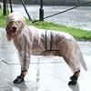 狗狗雨衣金毛萨摩耶大狗四脚柴犬雨披雨天大型犬宠物防水全包衣服