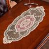 欧式茶几垫餐垫蕾丝桌旗奢华桌布台布餐边柜盖巾美式餐桌垫装饰。