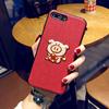 刺绣猪oppoR9S手机壳r9plus防摔套r9m女款r9sk创意情侣r9新年潮牌