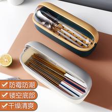 装筷子勺子收纳盒家用带盖防尘可沥水筷子笼厨房餐具筷子筒筷子篓