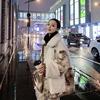 羊羔毛圈圈2018冬装流行大衣拼接显瘦小个子短款加厚外套