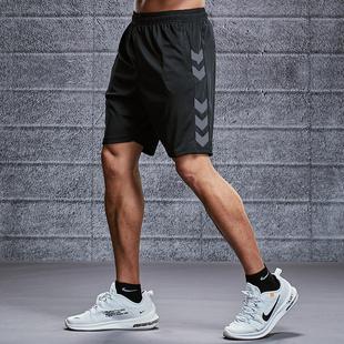 运动短裤男跑步健身速干潮五分女夏季宽松训练中裤沙滩篮球裤