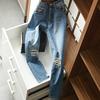 依稀可见&ldquo珠钻璀璨&rdquo 随处便有&ldquo灯火阑珊&rdquo破洞 牛仔裤S-XL