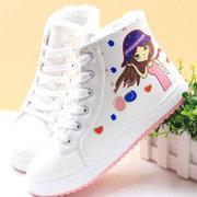 回力冬季6中大童鞋子7加绒棉鞋8小学生9女孩10保暖短靴12儿童13岁
