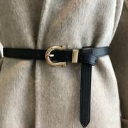 韩国秋冬腰带女士外套呢大衣毛衣连衣裙腰封时尚收腰显瘦皮带