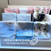 日本购 wedgwood小碎花绵女士手帕方巾领巾教师节礼物