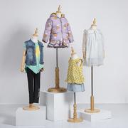 儿童模特道具半身小孩2童装模特小童服装模特展示架4童装店模特架