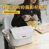 ELECOM 日本单肩单反休闲相机包 佳能尼康户外街拍斜挎微单摄影包