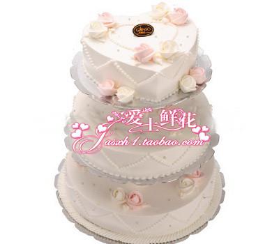 【天亦有情】元祖品牌蛋糕昆山蛋糕婚礼蛋糕祝福蛋糕市区免配