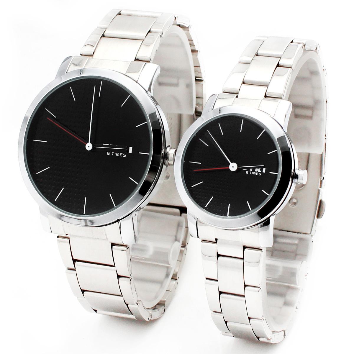 Часы Enicar EYKI 8410 Кварцевые часы Пара стол Гонконг 2011