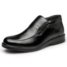 NX奥康 商务正装英伦真皮皮鞋 男士冬季舒适保暖男鞋高帮鞋 短靴图片