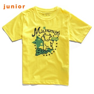 Giordano t-shirts boys we are friends in summer 2012 new calf t-shirt 03092002