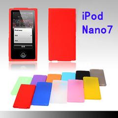 适用苹果ipod nano7硅胶套nano 8代防摔套软壳 果冻套简约保护套