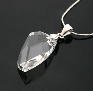 Подвеска Моде элегантный Crystal 6620 Сваровски (серебро) на цепочке free (без цепи)