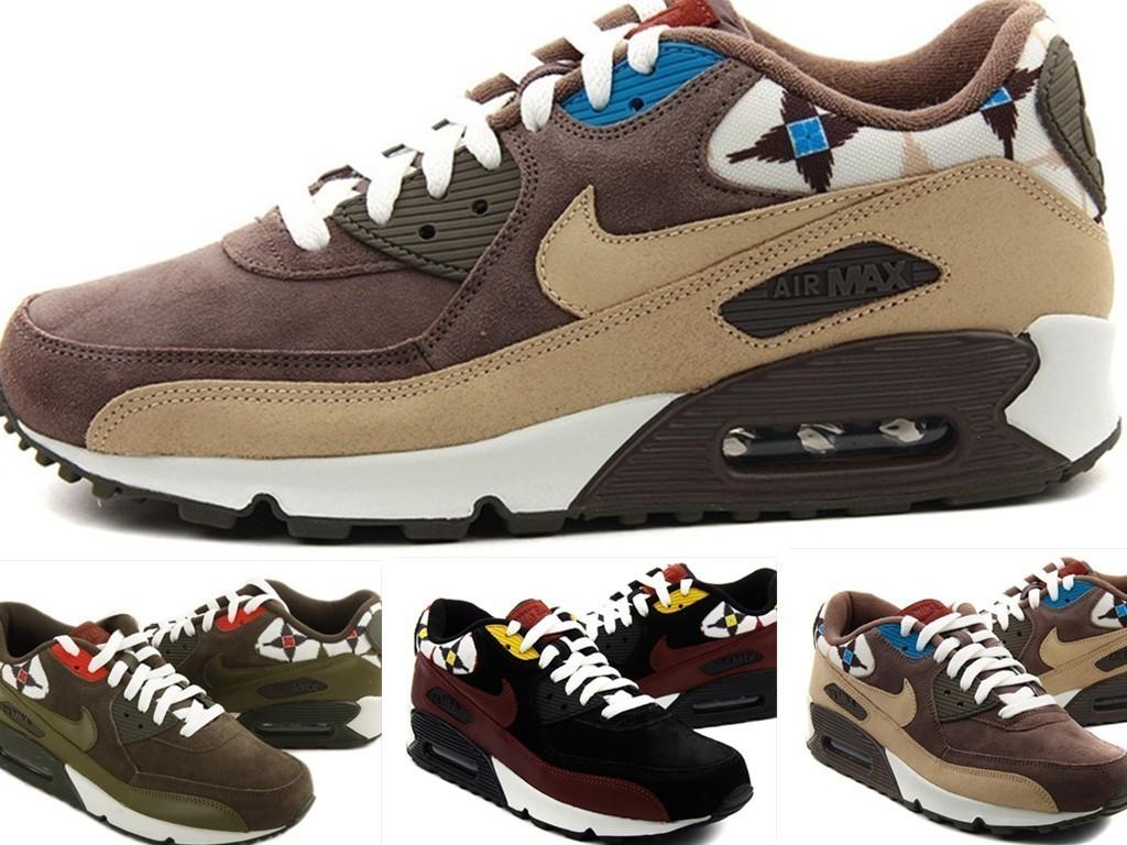 кроссовки Nike 2012000101 Air Max 90 325018-035 2012 Осень 2012 Мужская Нескользящая резина