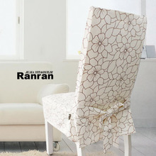 Special offer customized mensal chair set of chair cover stool chair cover connected set of Korean bow SRX (SaRe hin)