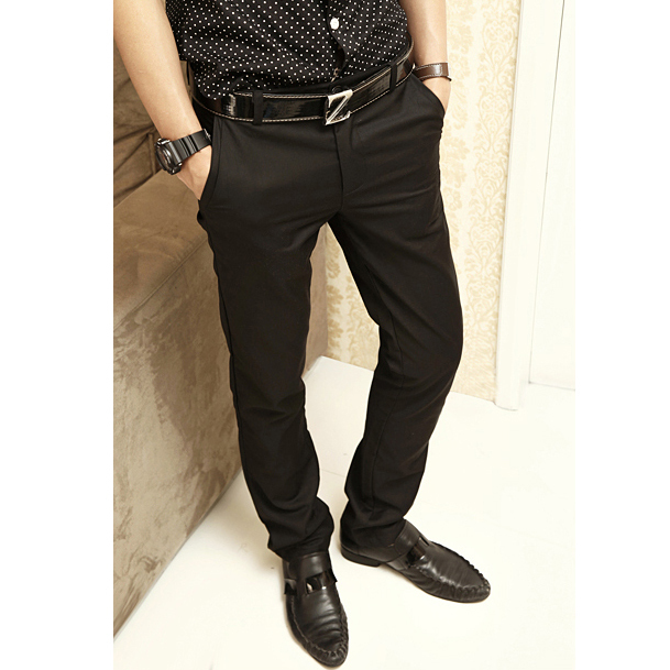 С чем носить черные брюки мужские
