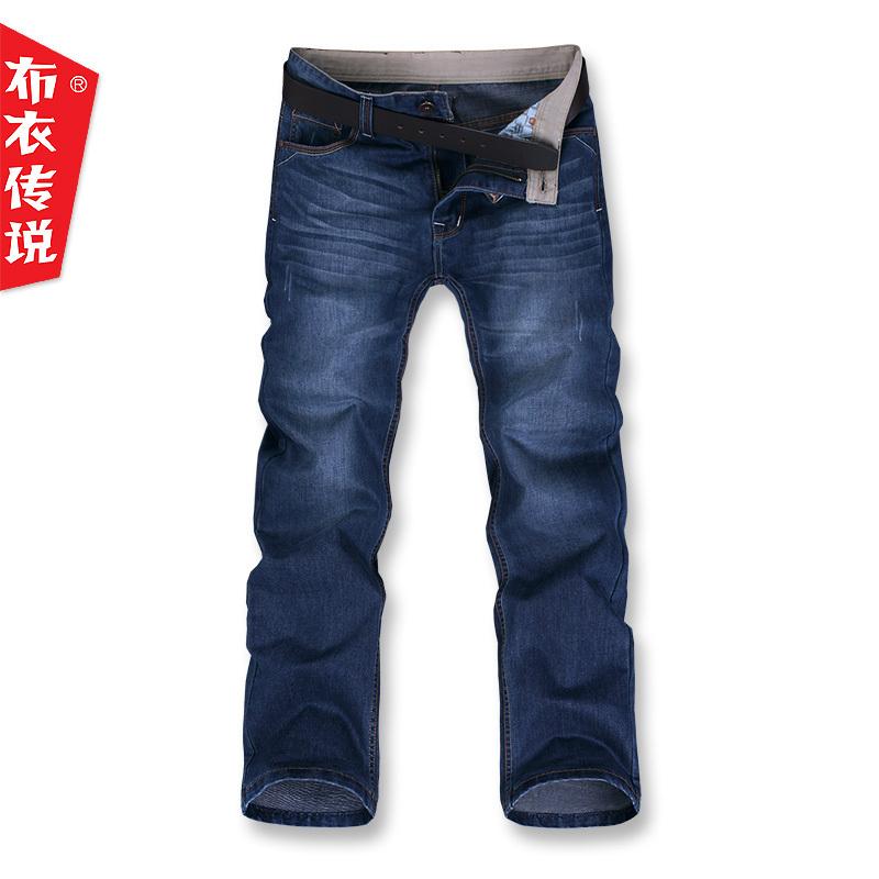 Джинсы мужские Pouilly Legende nnk164 2012 Прямые брюки Классическая джинсовая ткань Модная одежда для отдыха 2012