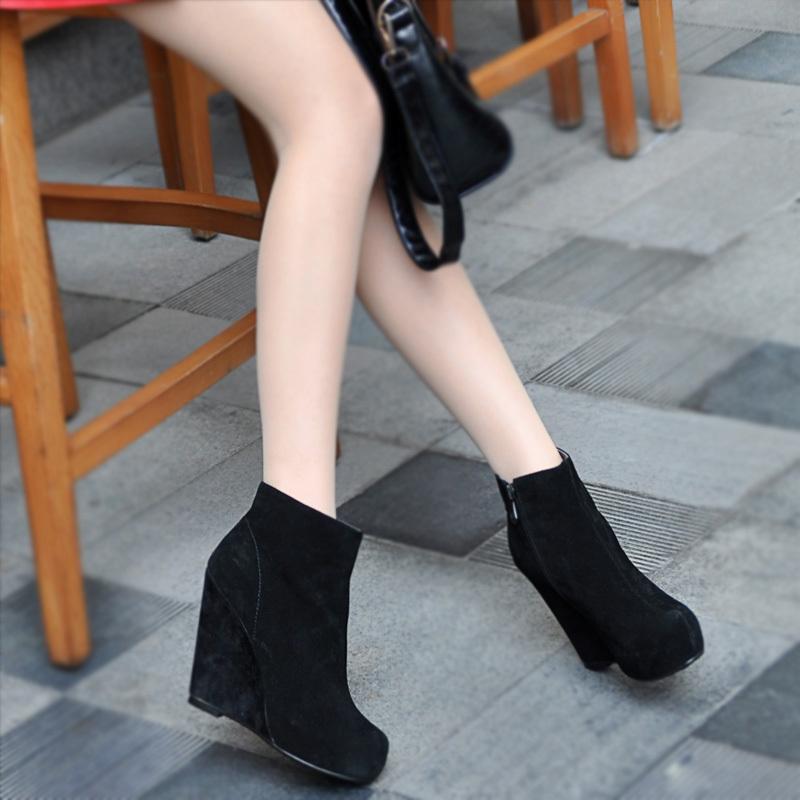 Женские сапоги Hee Man l1930185 2012 Осень 2012 Короткие сапоги Молния сбоку