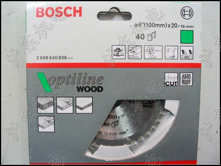 Диск пильный 4-дюймовый Деревообработка лезвие Bosch