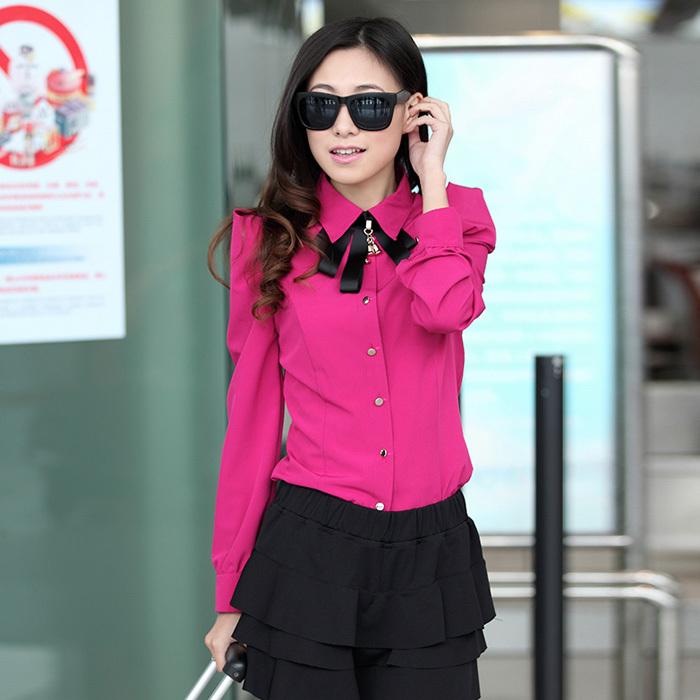 Ярко Розовая Блузка Купить