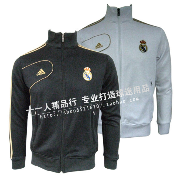 Футбольная форма 11 people hn13000551021 12/13 Real Madrid Jacket Black Whit