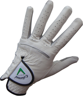 Special offer  most cost-effective  men's Golf Gloves, Sheepskin skid resistant White 130,008