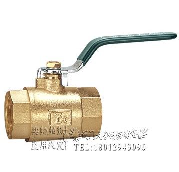 中国永德信品牌 201A重型丝口黄铜球阀门DN32 DN40 2寸DN50