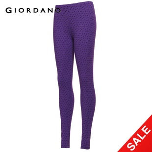 2012 Giordano ladies ' Butterfly stretch TIGHTS 90,490,576