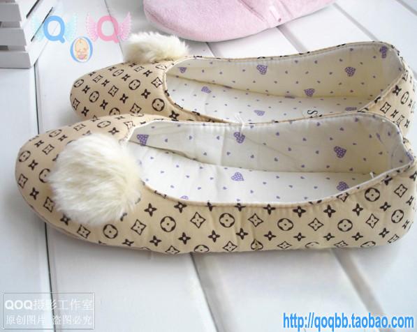 金冠 四季皆宜 布艺月子鞋 软底鞋 孕妇鞋 瑜伽鞋 产前产后必备