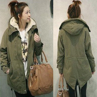 Женская утепленная куртка Gx clothing 1519 ^GX^ 2012 Прямой Длинный рукав Осень 2012