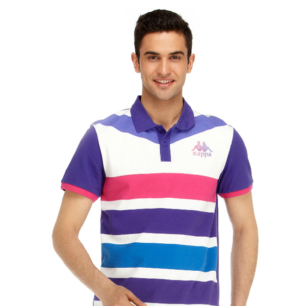 Kappa Kappa Men's counter genuine men's casual sportswear short-sleeved shirt POLO K0132PD08