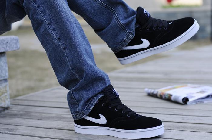 кроссовки Nike 429530 2012 Замша Летом 2012 года Мужские Натуральный каучук